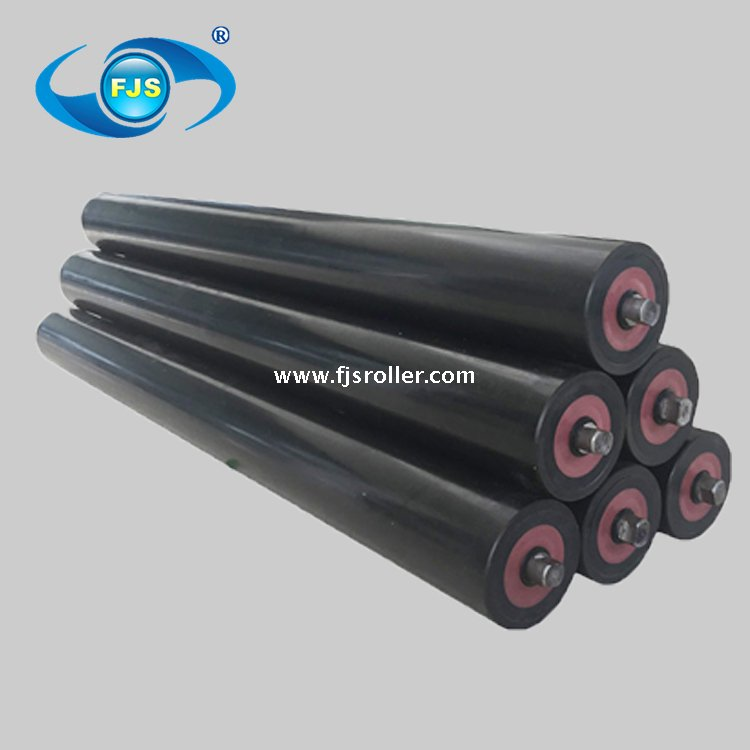 Standard belt conveyor hdpe idler roller, return roller - Buy HDPE