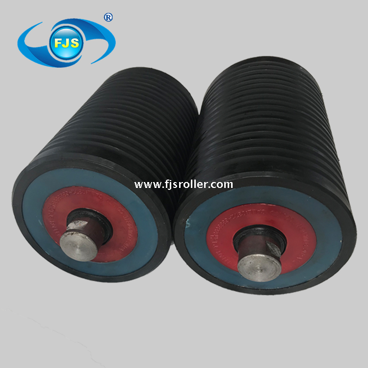 UHMWPE HDPE belt conveyor structure dust proof seal roller idler lighter than steel