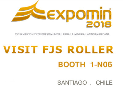 Welcome to visit us in EXPOMIN 2018-Santiago Chile