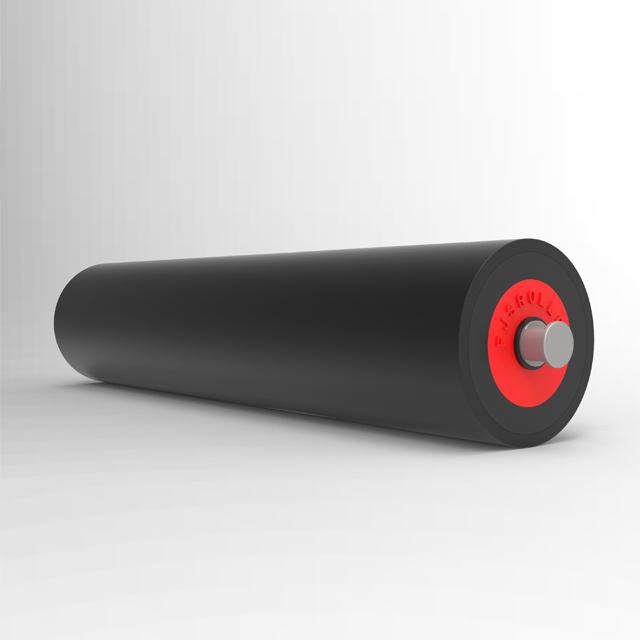 lighter than steel UHMWPE HDPE material belt conveyor roller with dust proof seal